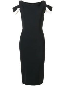 Le Petite Robe Di Chiara Boni fitted midi dress - Black