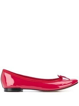 Repetto patent leather ballerina shoes - Red