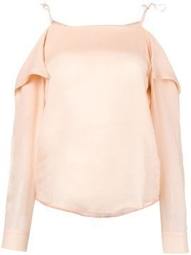 Tela off the shoulder top - Pink