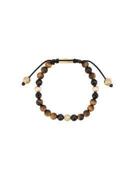 Nialaya Jewelry faceted stone bracelet - Brown