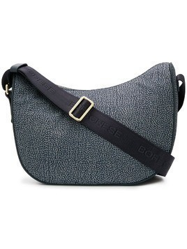 Borbonese printed shoulder bag - Grey