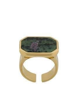 Isabel Marant crystal stone ring - GOLD