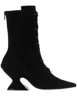 Dorateymur sculpted heel ankle boots - Black