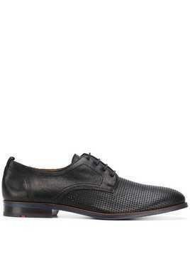 Lloyd perforated derby shoes - Black