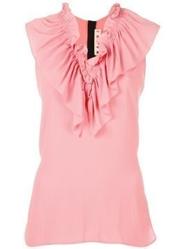 Marni ruffle collar top - Pink