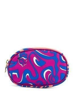 Emilio Pucci printed cosmetic case - PINK