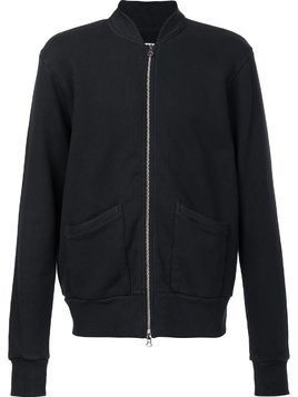 321 zip-up sweatshirt - Black