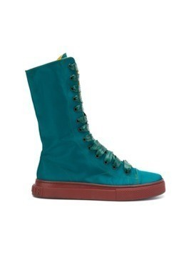 Jean Paul Gaultier Vintage lace-up boots - Green