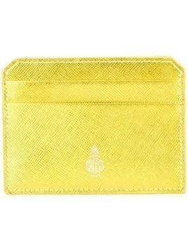Mark Cross logo cardholder - Gold