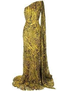Alex Perry Rhett dress - Yellow