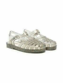 Mini Melissa Mel Possession transparent sandals - Grey