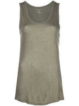 Majestic Filatures Metallic Ribbed Tank