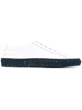 Common Projects - Original Achilles low sneakers - Herren - Calf Leather/Leather/rubber - 41 - White