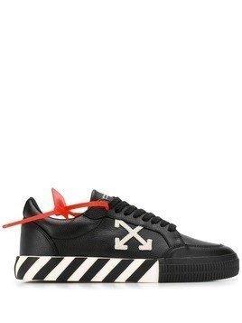 Off-White security tag sneakers - Black