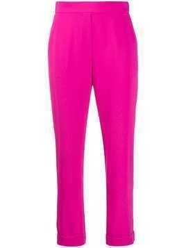 P.A.R.O.S.H. high-waisted trousers - PINK