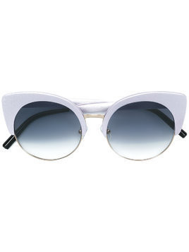 Matthew Williamson cat-eye tinted sunglasses - Grey