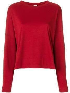 Krizia Pre-Owned loose fit jumper - Red