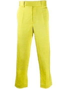 Haider Ackermann tailored trousers - Yellow