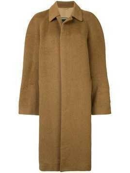 Christian Dior Pre-Owned single breasted coat - Brown
