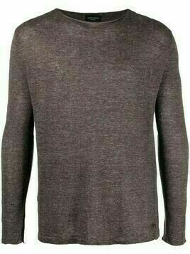 Roberto Collina fine-knit long-sleeve jumper - Brown