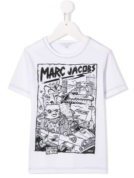 Little Marc Jacobs printed T-shirt - White