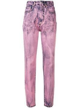 Fiorucci two tone skinny jeans - Pink