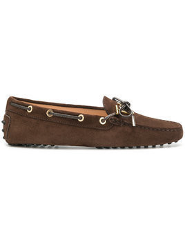 Tod's lace-up loafers - Brown