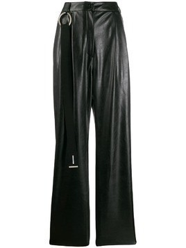 Brognano straight-leg trousers - Black