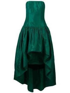William Vintage 1960 strapless gown - Green