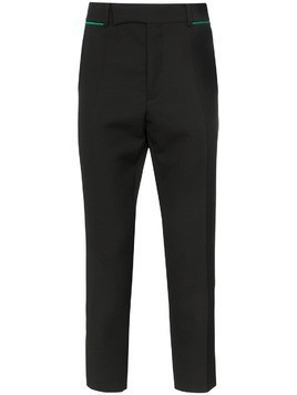 Haider Ackermann embroidered tailored trousers - Black