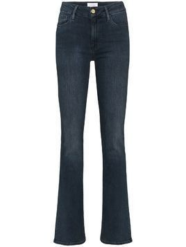 Frame Le Mini high-rise jeans - Blue