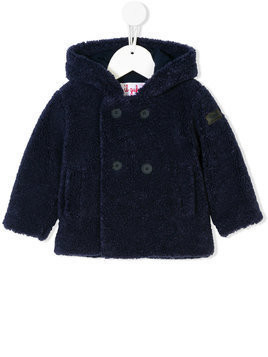 Il Gufo faux fur jacket - Blue
