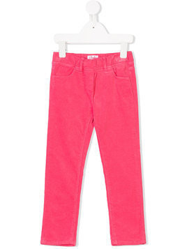 Il Gufo straight-leg trousers - Pink & Purple