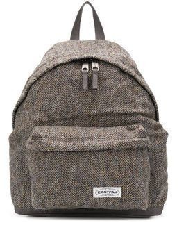 Eastpak Padded Park chevron backpack - Grey