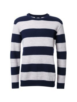 Hl Heddie Lovu striped knitted jumper - Blue