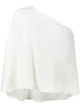 Roland Mouret Hurley one-shoulder blouse - White