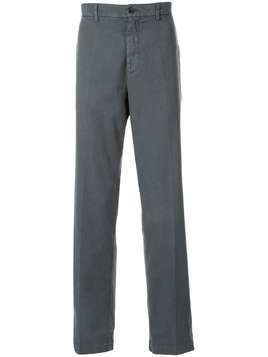 120% Lino textured straight leg trousers - Grey