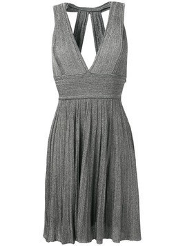 Antonino Valenti Petronia short lurex dress - Grey