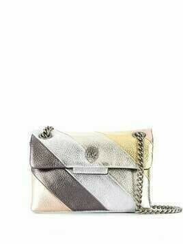 Kurt Geiger London Kensington leather shoulder bag - SILVER