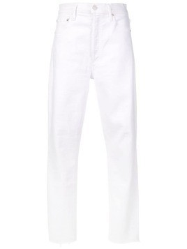 Agolde Nico slim fit jeans - White