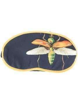 F.R.S For Restless Sleepers dragonfly print sleep mask - Blue