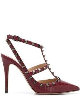 Valentino Valentino Garavani Rockstud t-bar pumps - Red