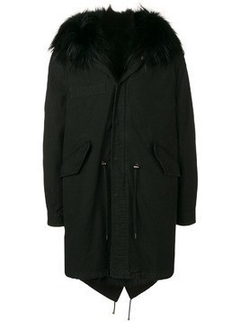 Al Duca D'Aosta 1902 hooded coat - Black