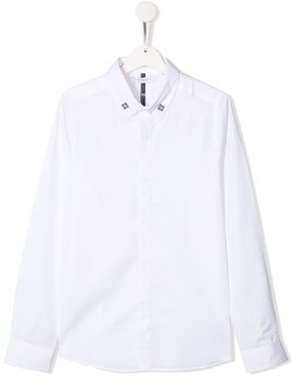 Givenchy Kids TEEN 4G logo shirt - White