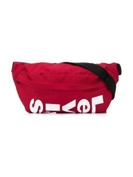 Levi's Kids zipped logo belt bag - Red
