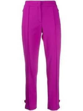 Escada raised seam trousers - PURPLE
