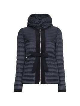 Moncler hooded down jacket - Blue