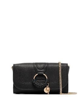 See by Chloé Hana leather clutch - Black