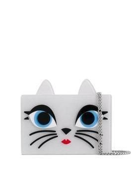 Karl Lagerfeld Choupette Minaudiere clutch bag - White