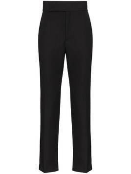 Haider Ackermann Miles tailored straight leg trousers - Black